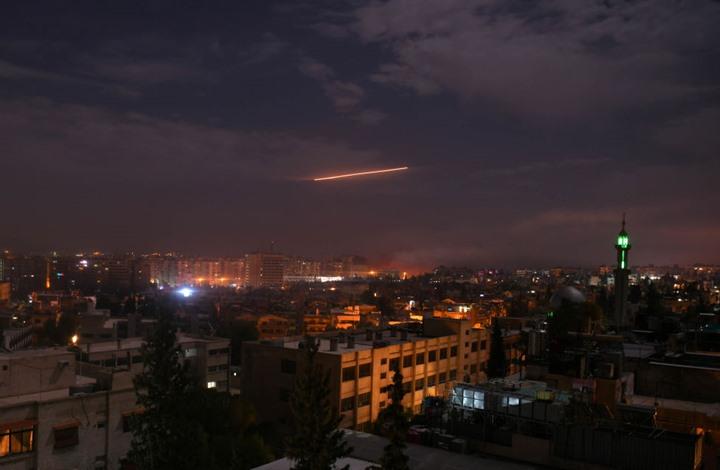 """سانا: الدفاعات الجوية السورية تتصدى لـ""""عدوان إسرائيلي"""""""