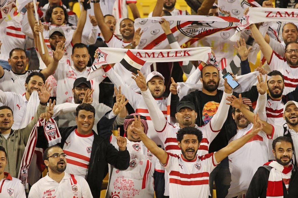 الزمالك المصري يتوج علي بالسوبر الأفريقي بهزيمة الترجي التونسي