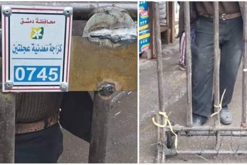 """نظام الأسد يقرر فرض رسوم مالية على """"العربات الحديدية"""" بدمشق"""