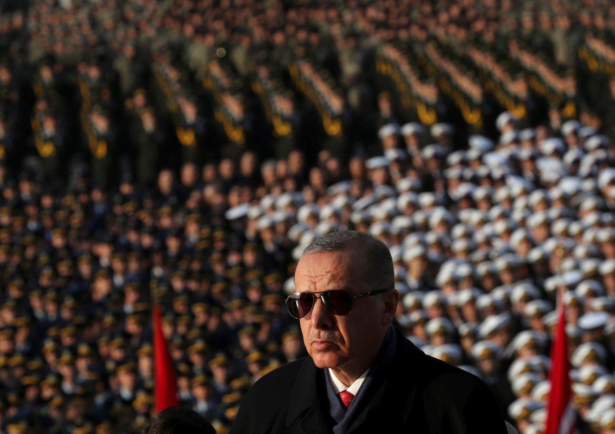 أردوغان يجتمع مع بوتين وميركل وماكرون في 5 مارس حول إدلب