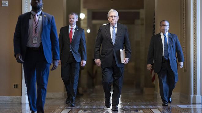 الجمهوريون في مجلس الشيوخ يطرحون مشروع قانون إنقاذ ضخم