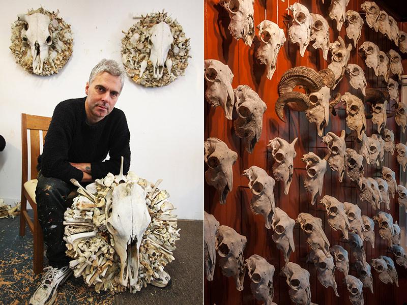 الفنان النيوزيلندي بروس ماهالسكي