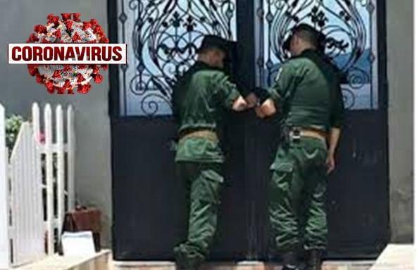 الدرك الجزائري يحجر على عروسين رفقة 36 شخصا