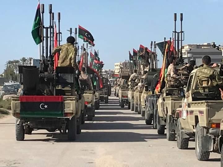 قوات شرق ليبيا تعلن إحباط هجوم على قاعدة الوطية واسر مرتزقة