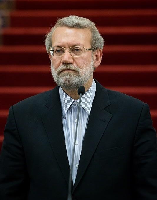 إصابة رئيس برلمان ايران بكورونا والإصابات 50 ألفا