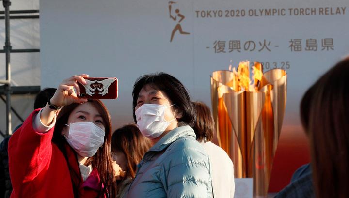اليابان توقف عرض الشعلة الأولمبية قرب محطة فوكوشيما النووية