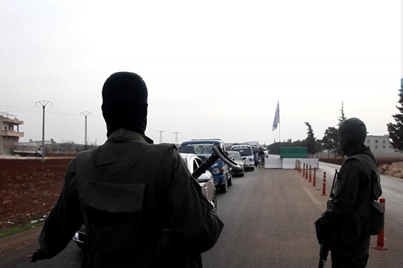 هيئة تحرير الشام تُقرر تأجيل افتتاح معبر تجاري مع النظام بسراقب