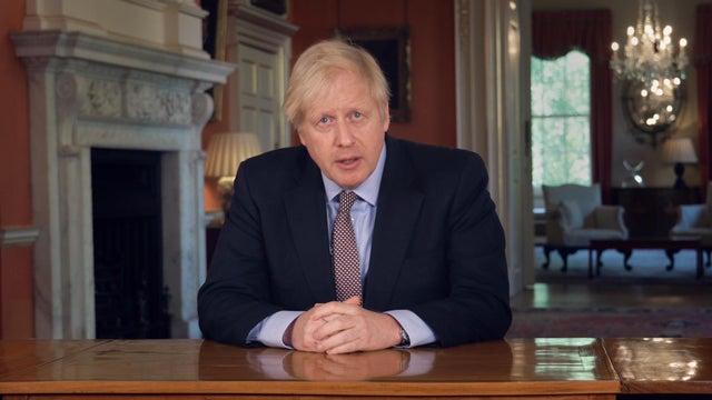 رئيس الوزراء البريطاني يطرح خارطة طريق لإعادة فتح البلاد