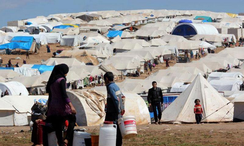 مخيمات شمال سورية مهددة بكورونامع الامكانات الطبية والغذائية