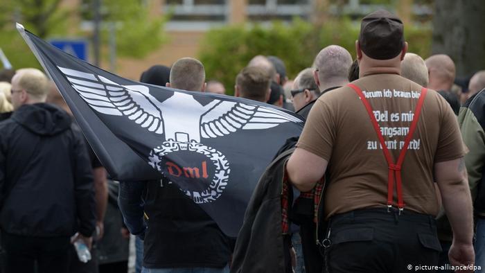 """حملة أمنية المانية ضد""""مواطني الرايخ """" الذين لا يعترفون بالدولة"""