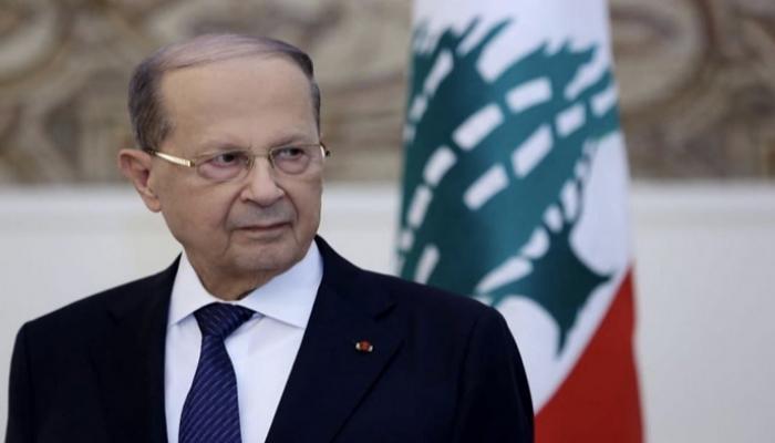 الرئيس اللبناني : لا تهاون في مواجهة الأطماع الإسرائيلية