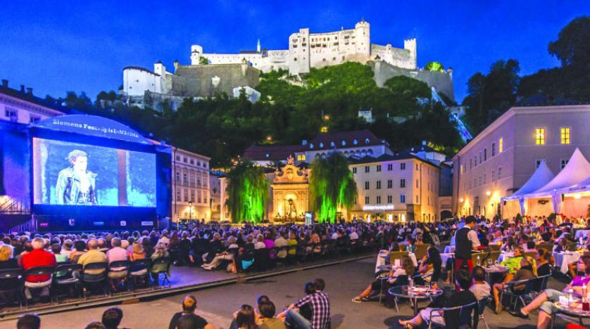 مهرجان سالزبورج النمساوي يطلق موسمه المئوي رغم جائحة كورونا