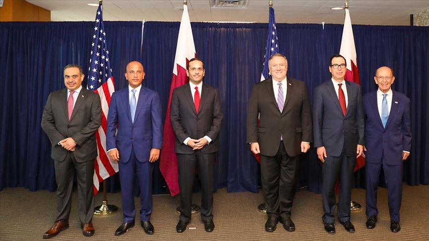 """الدوحة وواشنطن قلقتان بشأن التأثيرات """"الضارة"""" لأزمة الخليج"""