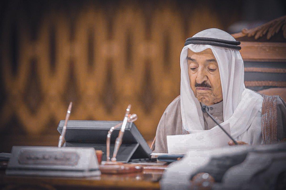 جثمان أمير الكويت يصل غدا والعزاء قاصر على أقاربه