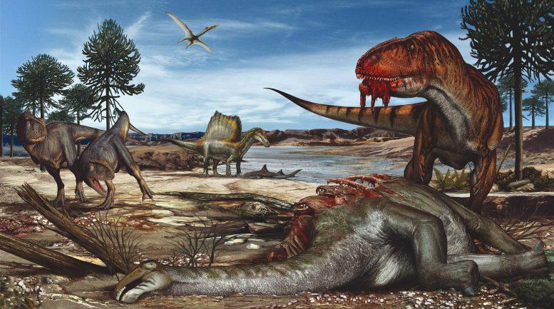 اكتشاف نوع من الديناصورات بالمغرب بمنقار وحجم ديك رومي