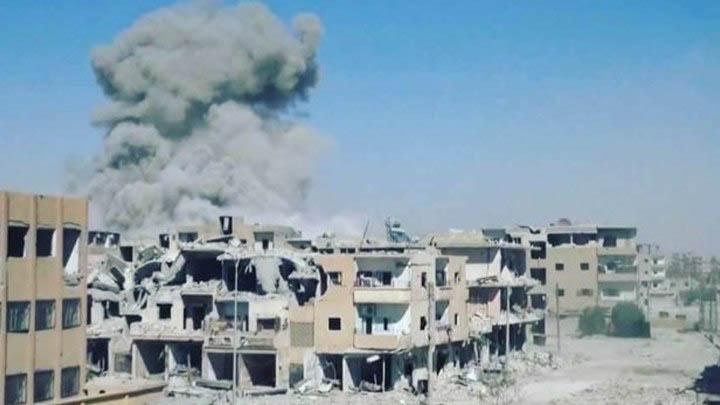 """امنستي:موقع يوثق عملية""""التحالف""""ضد داعش بالرقة"""