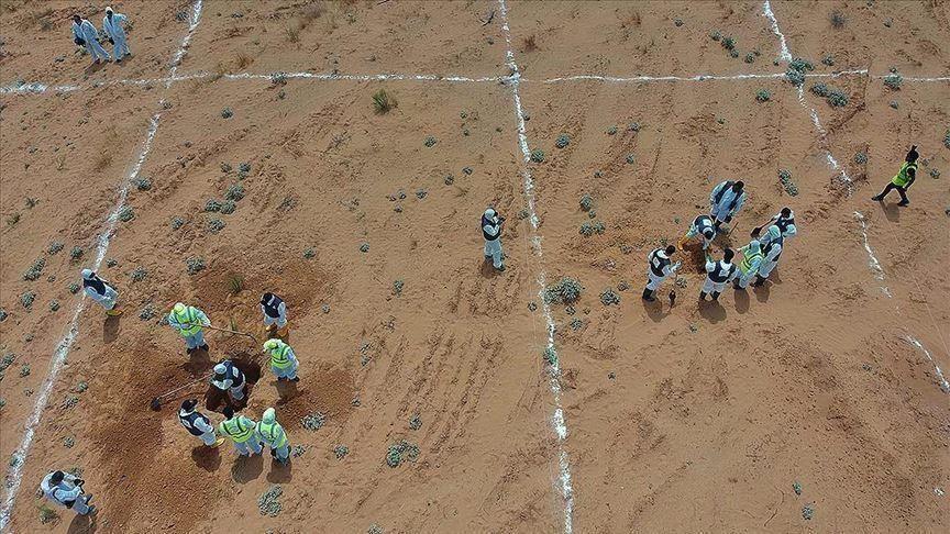 مقابر جماعية جديدة بترهونة في مناطق كانت تحت سيطرة حفتر