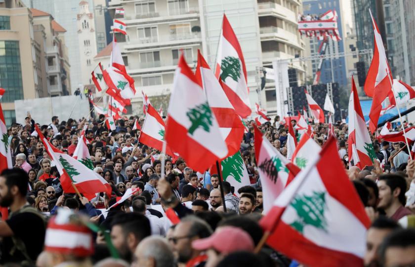 امنستي : خلاصة عام من قمع الاحتجاجات السلمية في لبنان