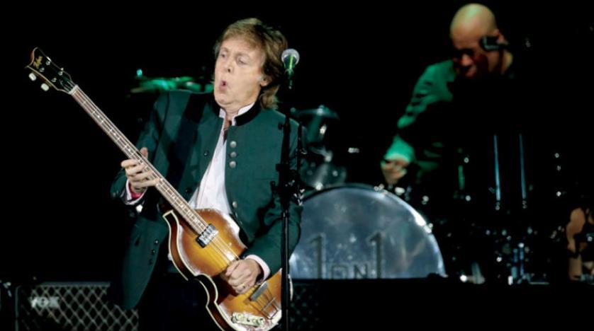 """نجم ؛البيتلز""""بول مكارتني يصدر اسطوانة منفردة بعد غياب طويل"""