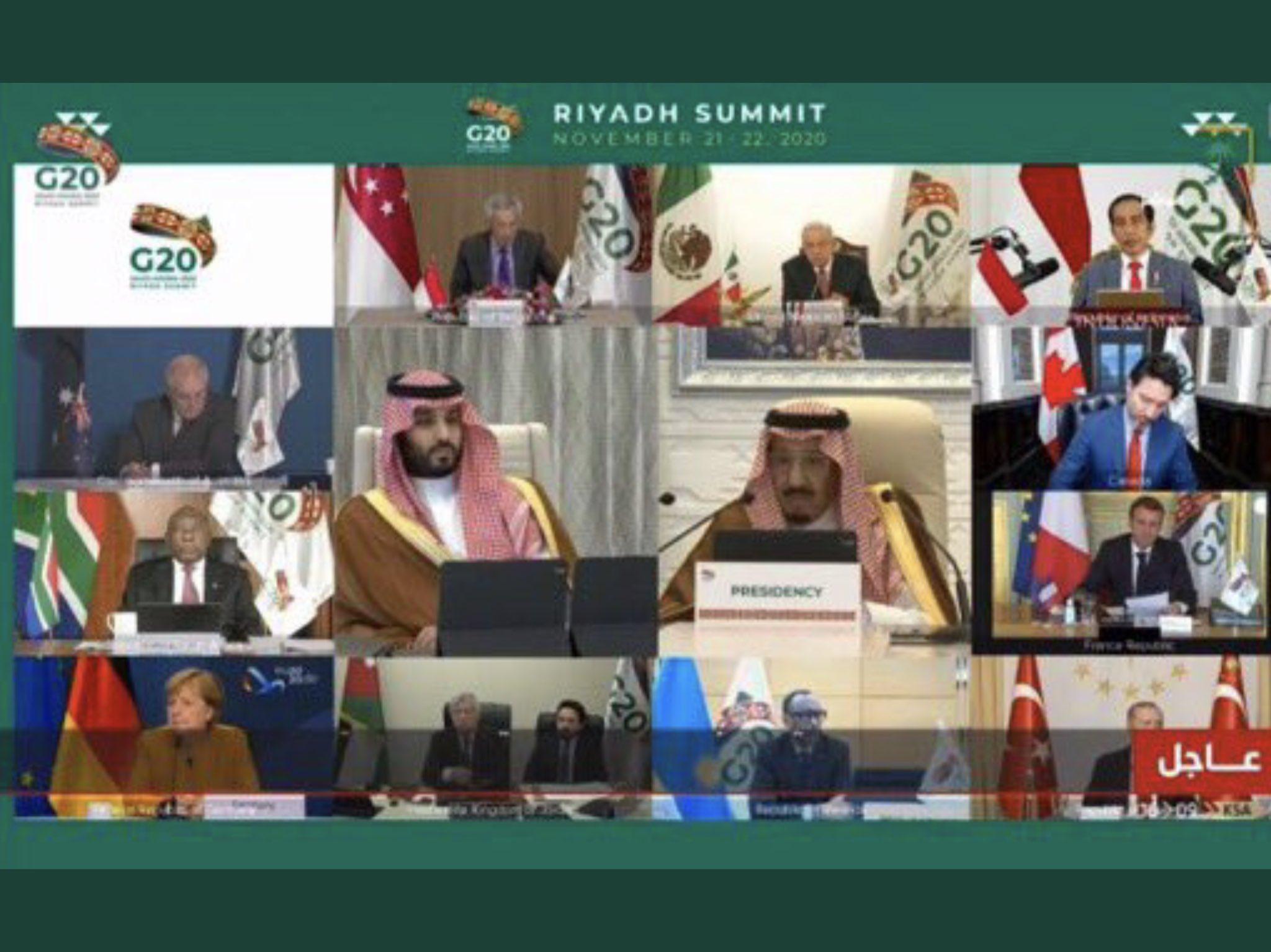 """""""كورونا"""" زاد من مسؤولية وأهمية """"مجموعة العشرين"""""""