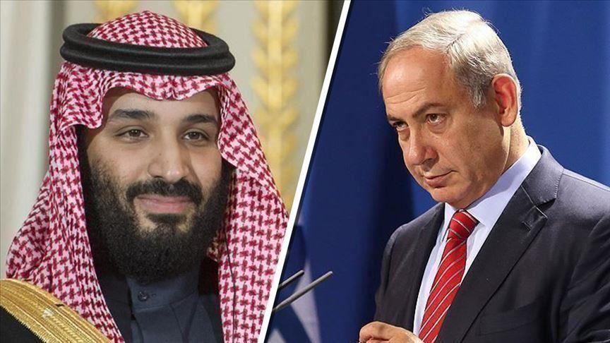 """نتنياهو يرفض التعليق على تقارير لقائه مع """"بن سلمان بالسعودية"""