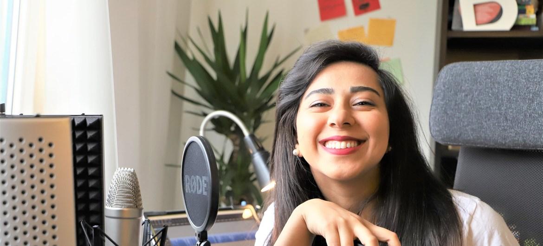 الصحافية الفلسطينية بيسان زرزر