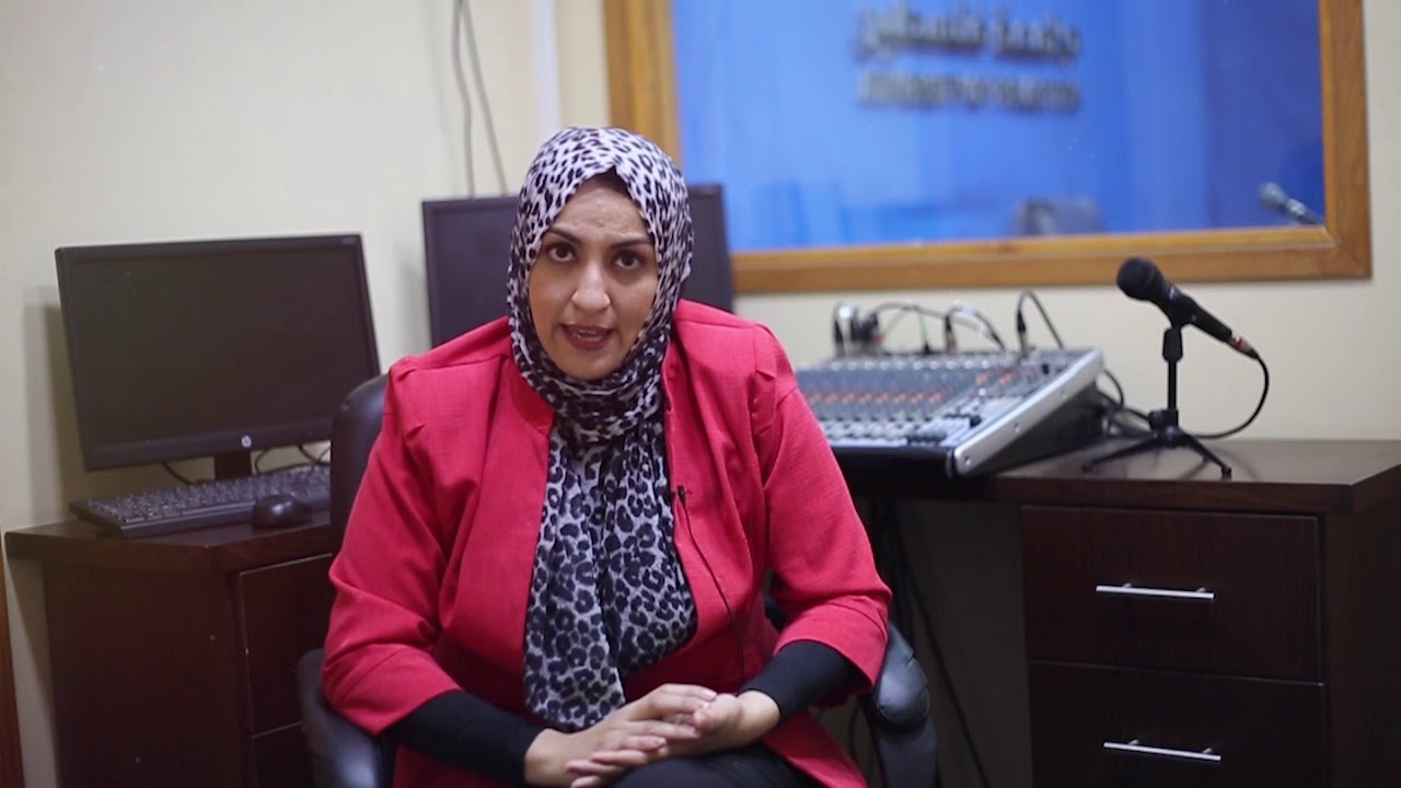 الدكتورة حنان العكلوك عميد كلية الإعلام وتكنولوجيا المعلومات