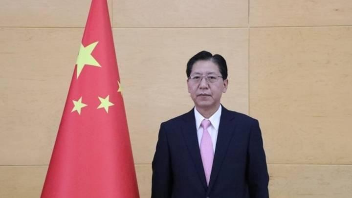 السفير الصيني في أنقرة ليو شاو بين جرى استدعاؤه للخارجية التركية - ايه -  ايه