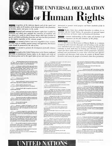 الإعلان العالمي لحقوق الإنسان هل ما يزال المعيار المعتمد عند الشعوب؟