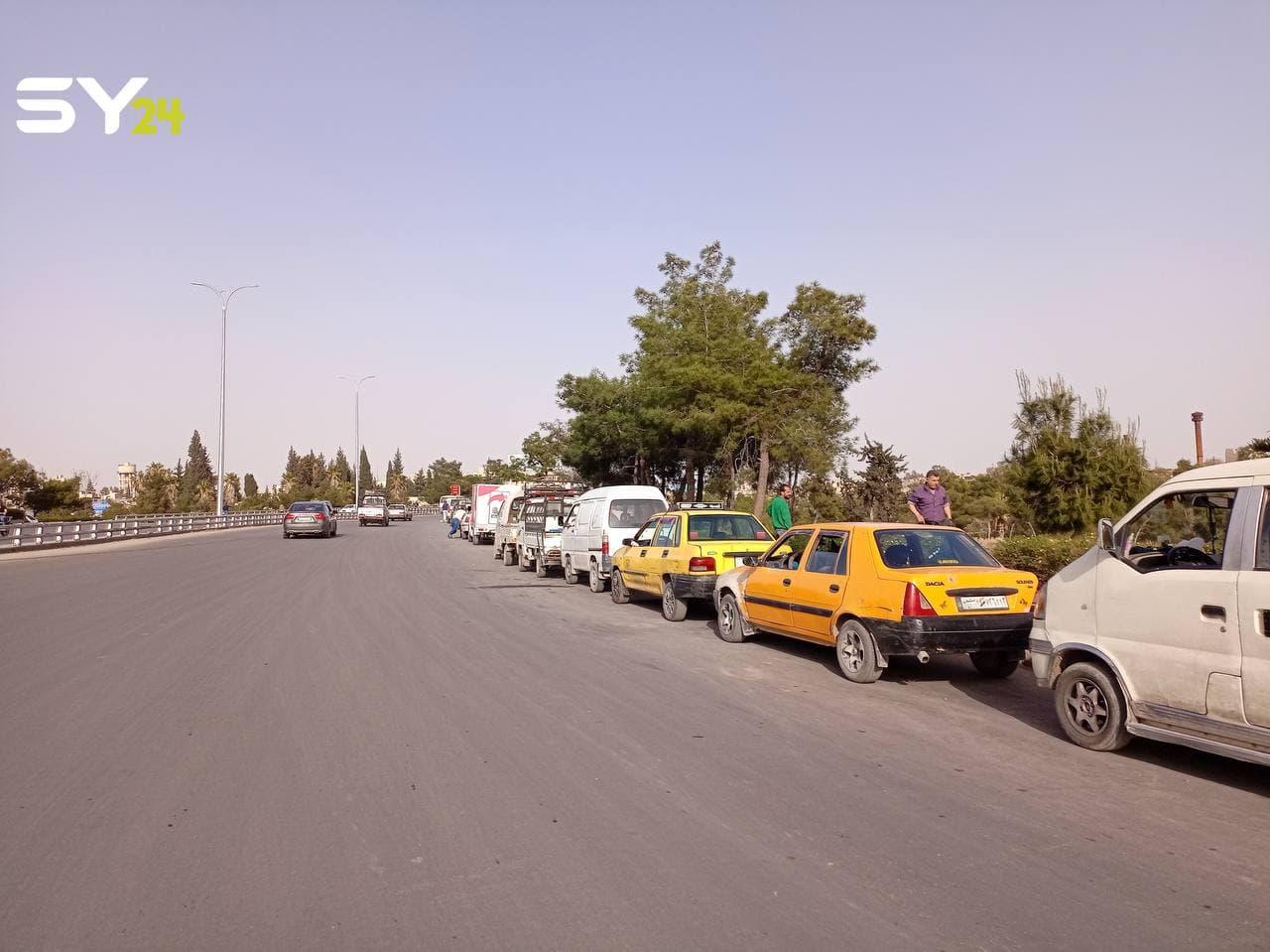 رغم الطوابير.. النظام السوري يرفع سعر البنزين مجدداً