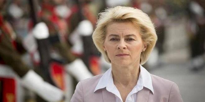 رئيسة المفوضية الاوربية