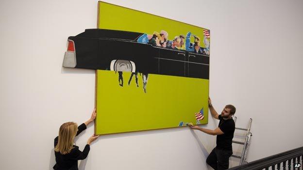 """فن البوب يصور اغتيال كنيدي في معرض """"تيت بريتين"""""""