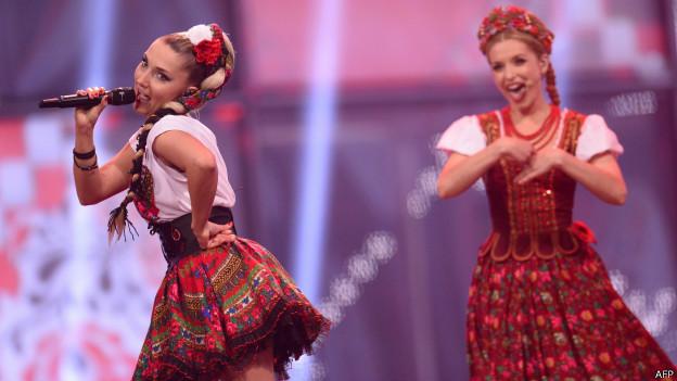 المملكة المتحدة منحت الثنائي البولندي دوناتان وكليو أعلى النقاط