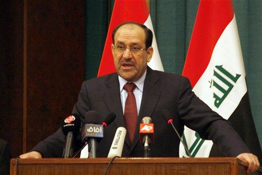 المالكي يدفع نحو حل سياسي-عسكري والقوات العراقية تهاجم تكريت