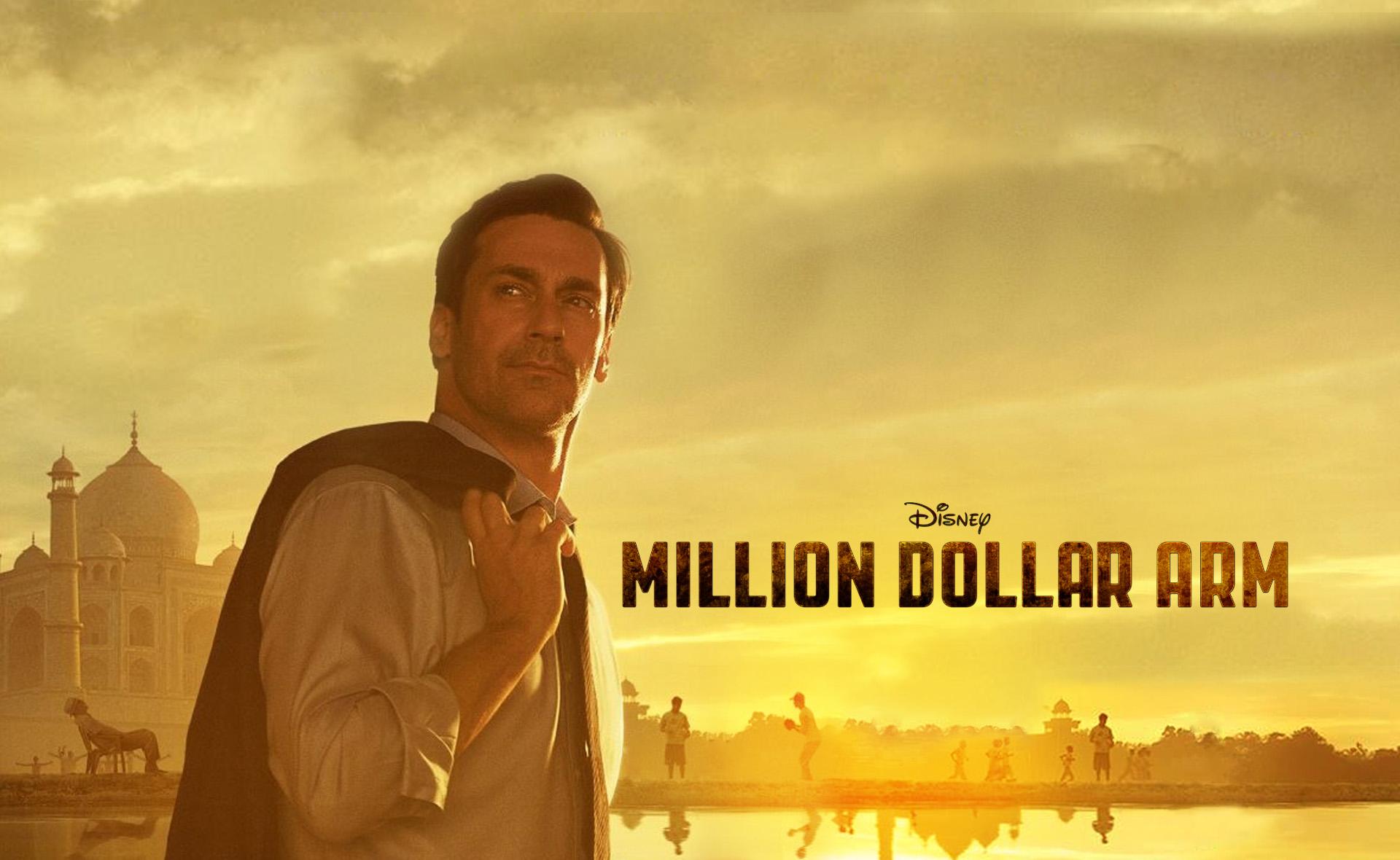 """""""ذراع بمليون دولار"""" كوميديا إنسانية عن عالم الرياضة من انتاج ديزني"""