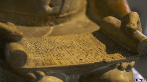 بيع تمثال مصري أثري بنحو 16 مليون استرليني في مزاد بلندن