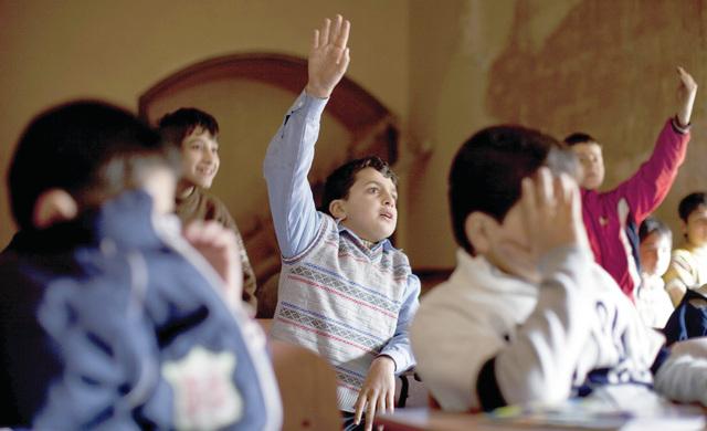 المدارس تفتح ابوابها في حلب... ولكن في الملاجىء