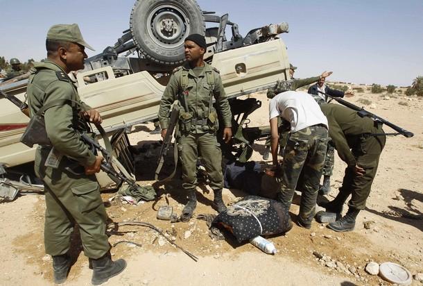 الجيش التونسي يصد هجوما شنه مسلحون  غرب البلاد