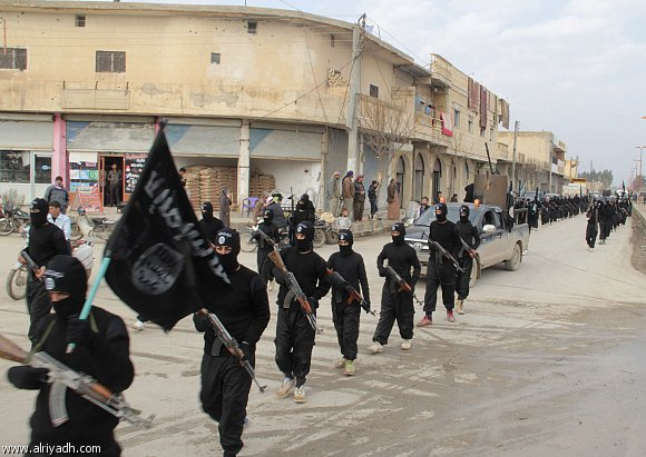 اشتباكات بين الاكراد وداعش على مشارف تل ابيض شمال سوريا