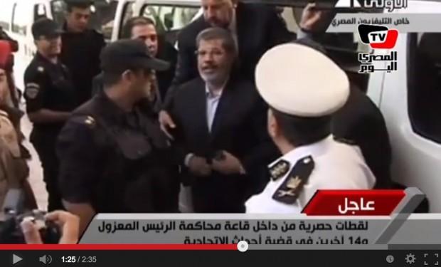 المؤبد لمرسي وبديع والإعدام للشاطر والبلتاجي في قضية التخابر