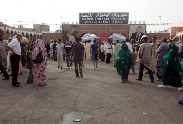 """انطلاق مهرجان """"تيميزار"""" بجنوب المغرب للاحتفاء بالفضة"""
