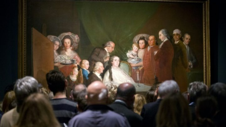 """عرض اول لبورتريهات غويا في متحف """"ناشونال غاليري"""""""