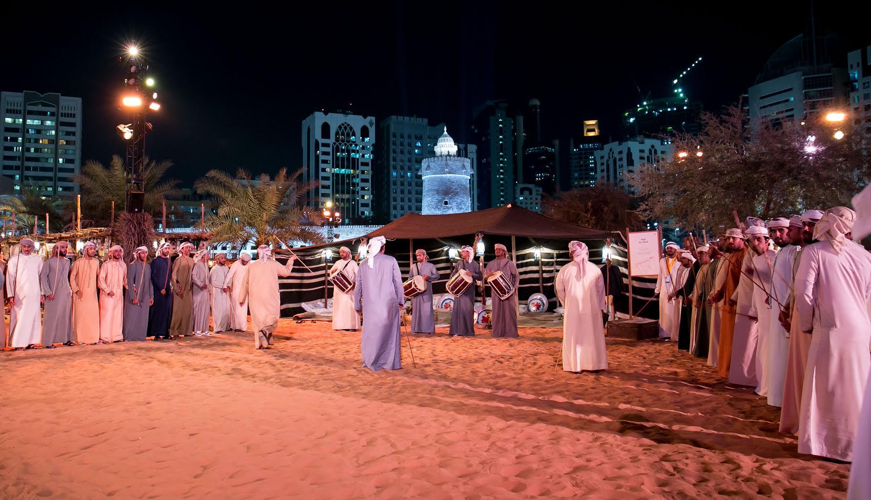 مهرجان قصر الحصن  يحتفي ب7عناصر ثقافية من التراث الاماراتي