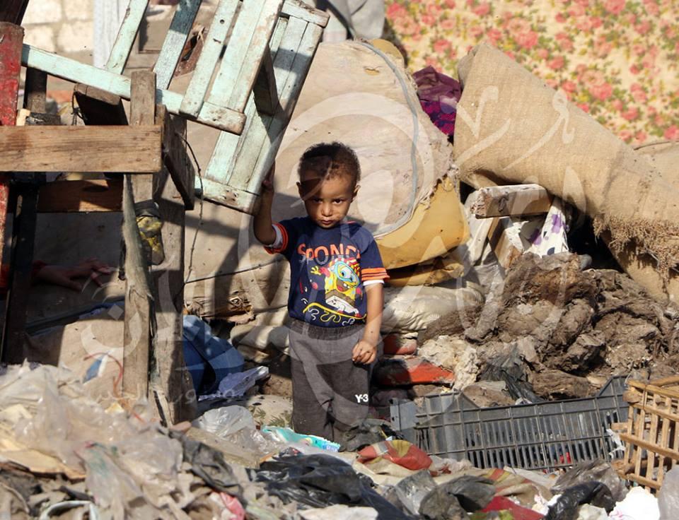 """مدرسة """"إعادة التدوير"""" بعزبة الزبالين في مصر تحتفل بتأسيسها"""