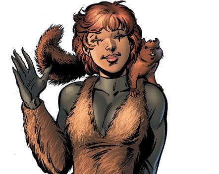 جديد هوليوود: الفتاة السنجاب بطلة خارقة  من عالم مارفيل