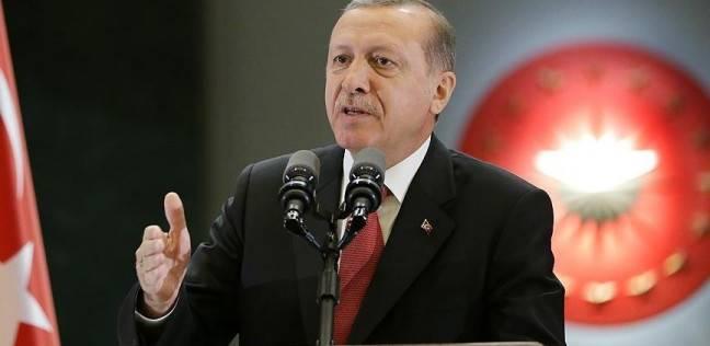 اردوغان يتوعد بمواصلة حملة التطهير