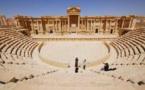 """تنظيم """"داعش"""" يدمر جزءا من المسرح الروماني في مدينة تدمر"""