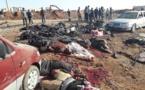 سيارة مفخخة في الباب السورية تودي بحياة 42 شخصا