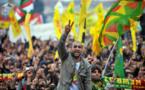 """اكراد تركيا يحتفلون ب""""النوروز"""" بشعار لا لتوسيع سلطات اردوغان"""