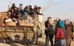 خروج آلاف السكان من الرقة السورية خوفاً من انهيار سد الفرات